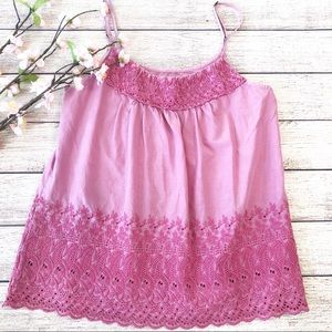 Aerie raspberry pink camisole top s/p